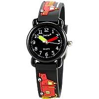 CakCity Kids Watches 3D Cute Cartoon Waterproof Silicone Children Toddler Wrist Watch Time Teacher Birthday 3-10 Year…
