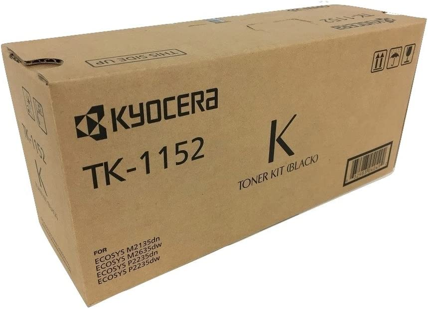 2600 Page Yield SuppliesMAX Compatible Replacement for Kyocera Mita ECOSYS M5021//M5221//P5021 Black High Yield Toner Cartridge TK-5230K
