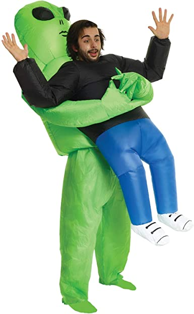 Morph Boys Pick Me up Inflatable Costume Alien Kids One Size