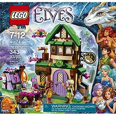 LEGO Elves The Starlight Inn 41174: Toys & Games