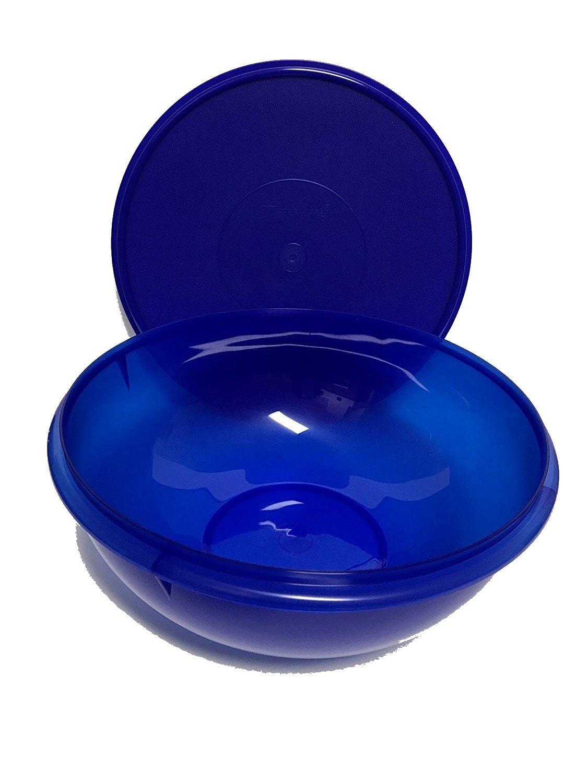 Tupperware Fix N Mix Bowl 26 Cup Capacity Electric Blue