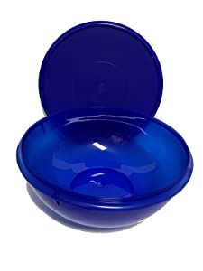Tupperware Fix N Mix Bowl 26 Cup Capacity Electric Blue