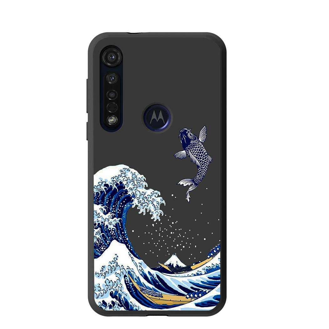 funda protectora para motorola g8 plus, Sea Wave)