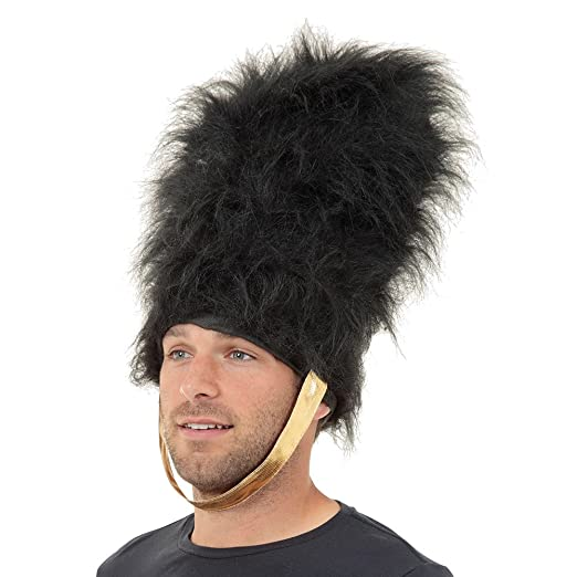 Amazon.com  Black Adult s Bearskin Hat  Clothing f6f011295044
