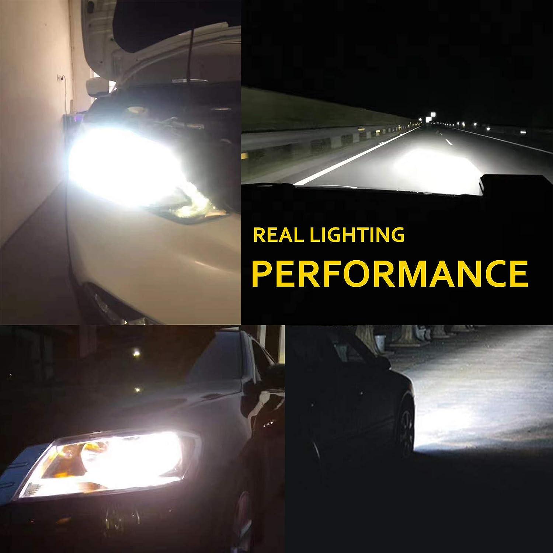 Amazon Com Hb3 9005 Car Led Headlight Bulbs Conversion Kit High
