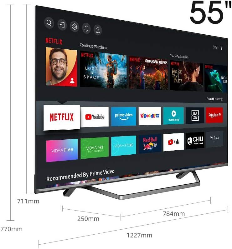 Hisense ULED 2020 55U7QF - Smart TV 55