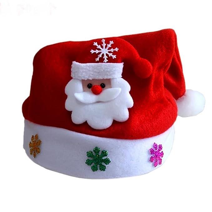 Adult Party Dress Children Christmas Hat Santa Claus Snowman Xmas Costume
