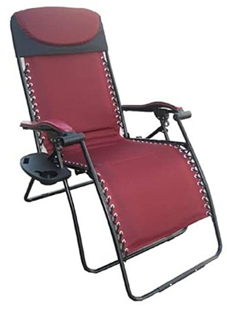 Brilliant Deluxe Big Tall Outdoor Recliner Fully Padded For Ultimate Comfort 375Lb Weight Limit Gamerscity Chair Design For Home Gamerscityorg