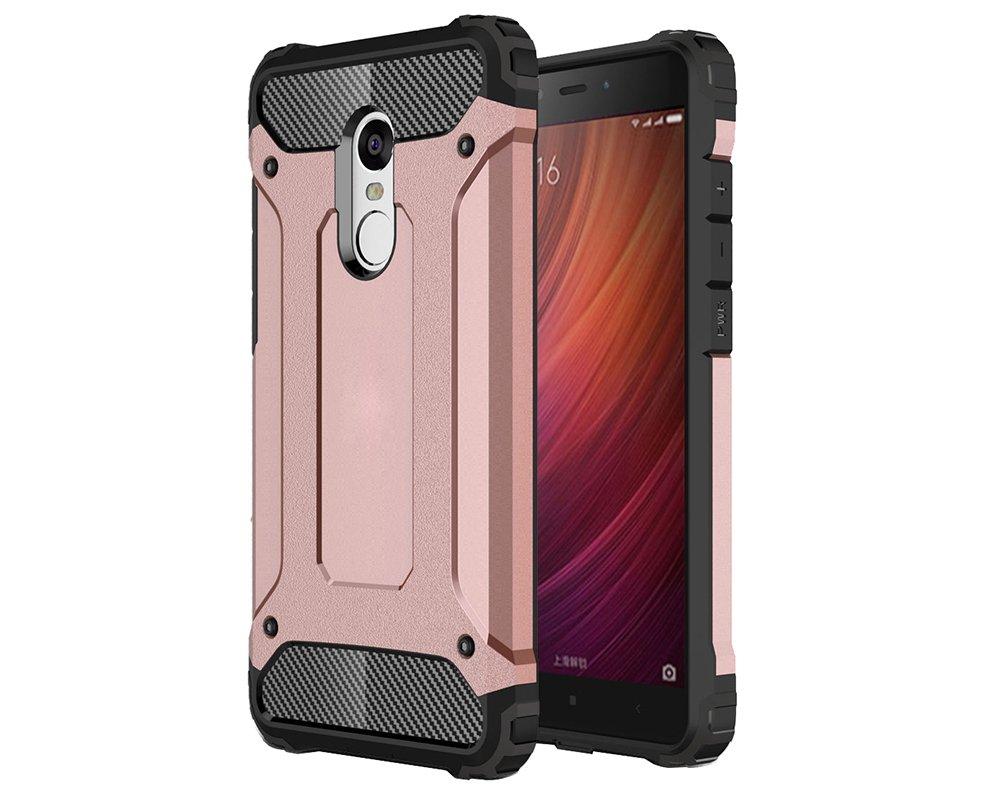 Olliwon Redmi Note 4X Case, Carbon Fiber Resilient Anti-slip ...