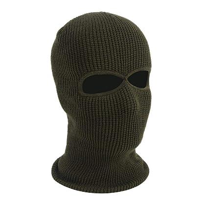 Amazon.com: Oshide - Máscara térmica de invierno con dos ...