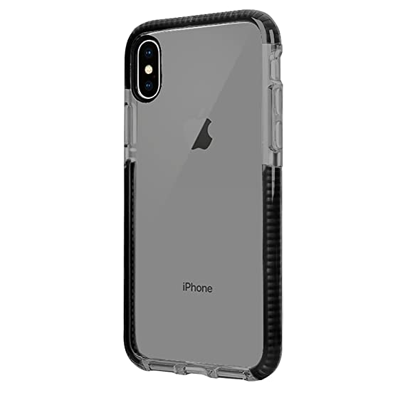 differently 3087a 524fc iPhone X Case, iPhone X Anti-Scratch Clear Case, Soft TPU with Transparent  Hard Plastic Protective Back Phone Cover, Thin Sleek Mobile Cover for ...