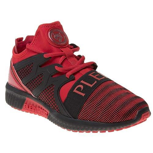 Plein Sport Runner Original Cage Herren Sneaker Rot: Amazon