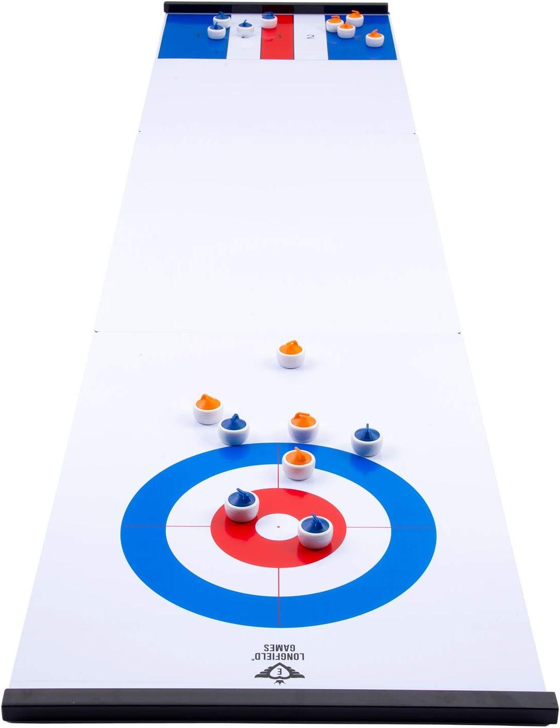 Engelhart - Juego de Curling Compacto y Palets Reversibles - 340500