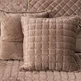 Decorative Pillow Cover - OstepDecor Multi-size Square Decorative Throw Pillow Cover Cushion Case | Coffee 18