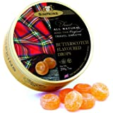 Simpkins Butterscotch Flavoured Travel Sweets 200 g, 200 g