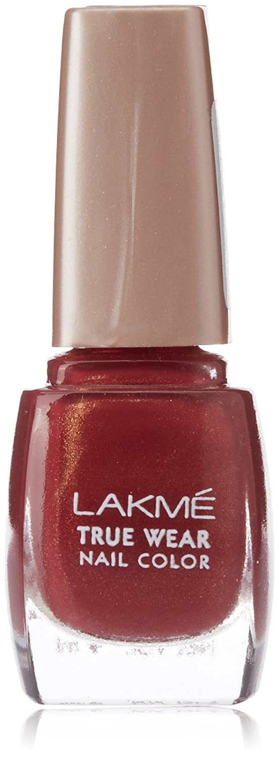 Buy Lakme True Wear Nail Color, Reds & Maroons 401, 9 ml Online at ...