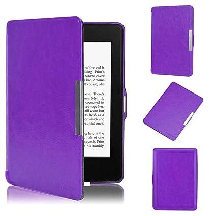 winwintom Premiu Ultra Funda de piel para Amazon Kindle Paperwhite ...