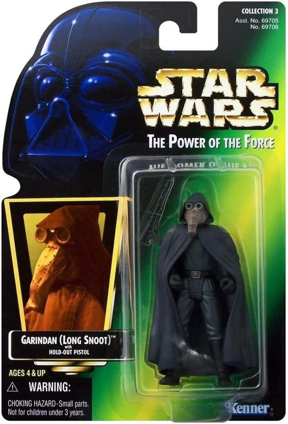 Figura Star Wars The Power Of The Force Garindan (Long Snoot)