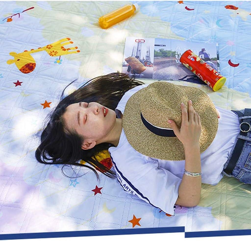 Tappetino A Prova di umidità stuoia di Picnic della stuoia Esterna Portatile Pieghevole Beach Picnic Mat Picnic Prato Panno Spesso Impermeabile (Color : D) A