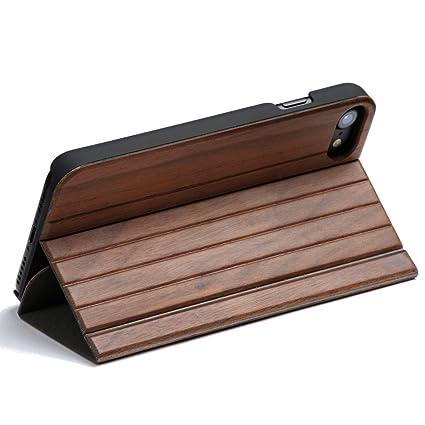 Wola Für Iphone 78 Hülle Holz Selva Handyhülle Und Holz Klapp