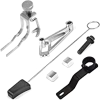 Dasen Engine Install/Remove Tool Kit for Ford 4.6L/5.4L/6.8L 3V V8 - Timing Chain Locking Tool, Cam Phaser Holding and Lockout Kit and Pulley Bolt, Crankshaft Position Tool, Valve Spring Compressor