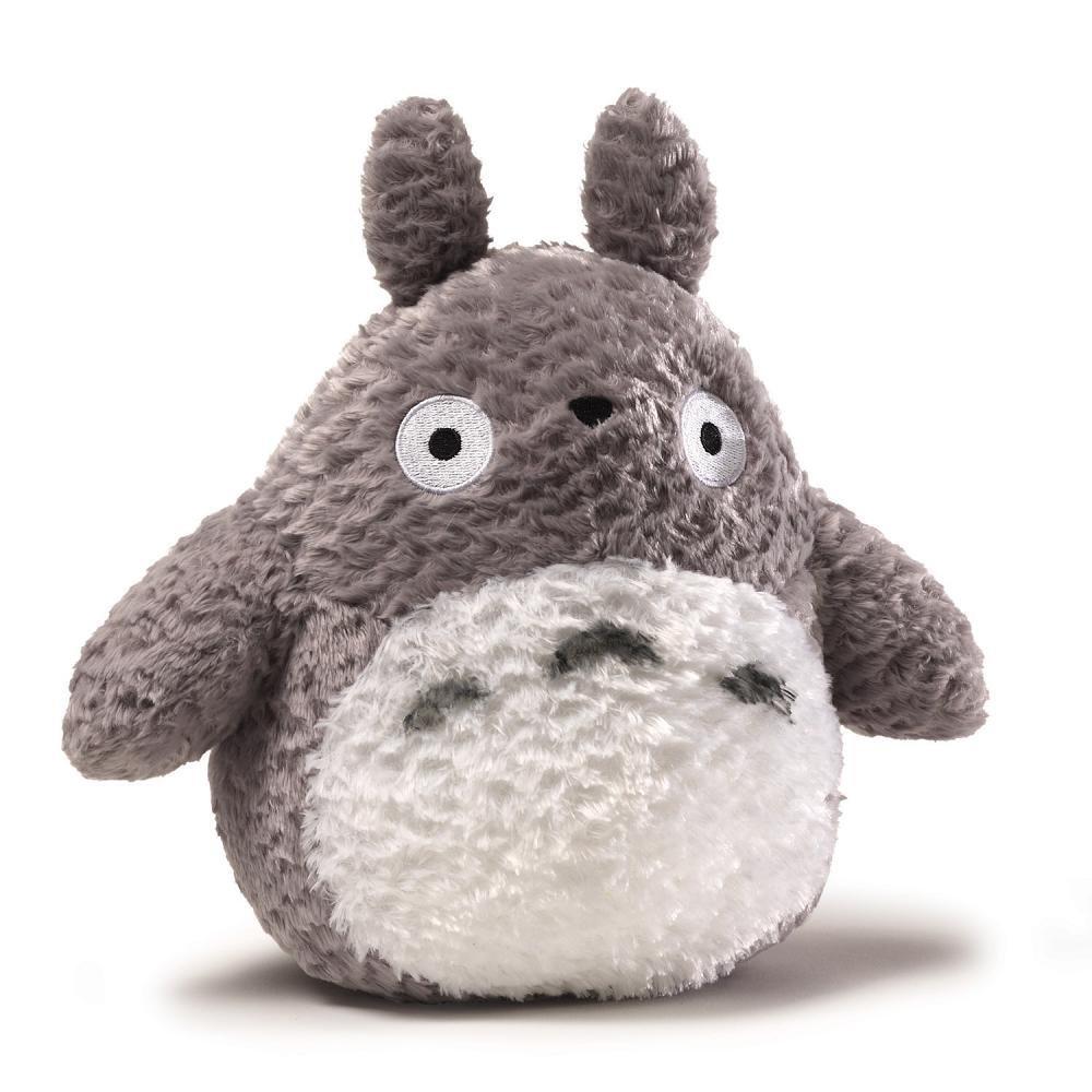 "Gund Fluffy Totoro Plush 9 Inches 9"" 4"