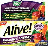 Nature's Way Alive! Women's Energy Multivitamin Multimineral – 50 tabs (PACK OF 2) Review