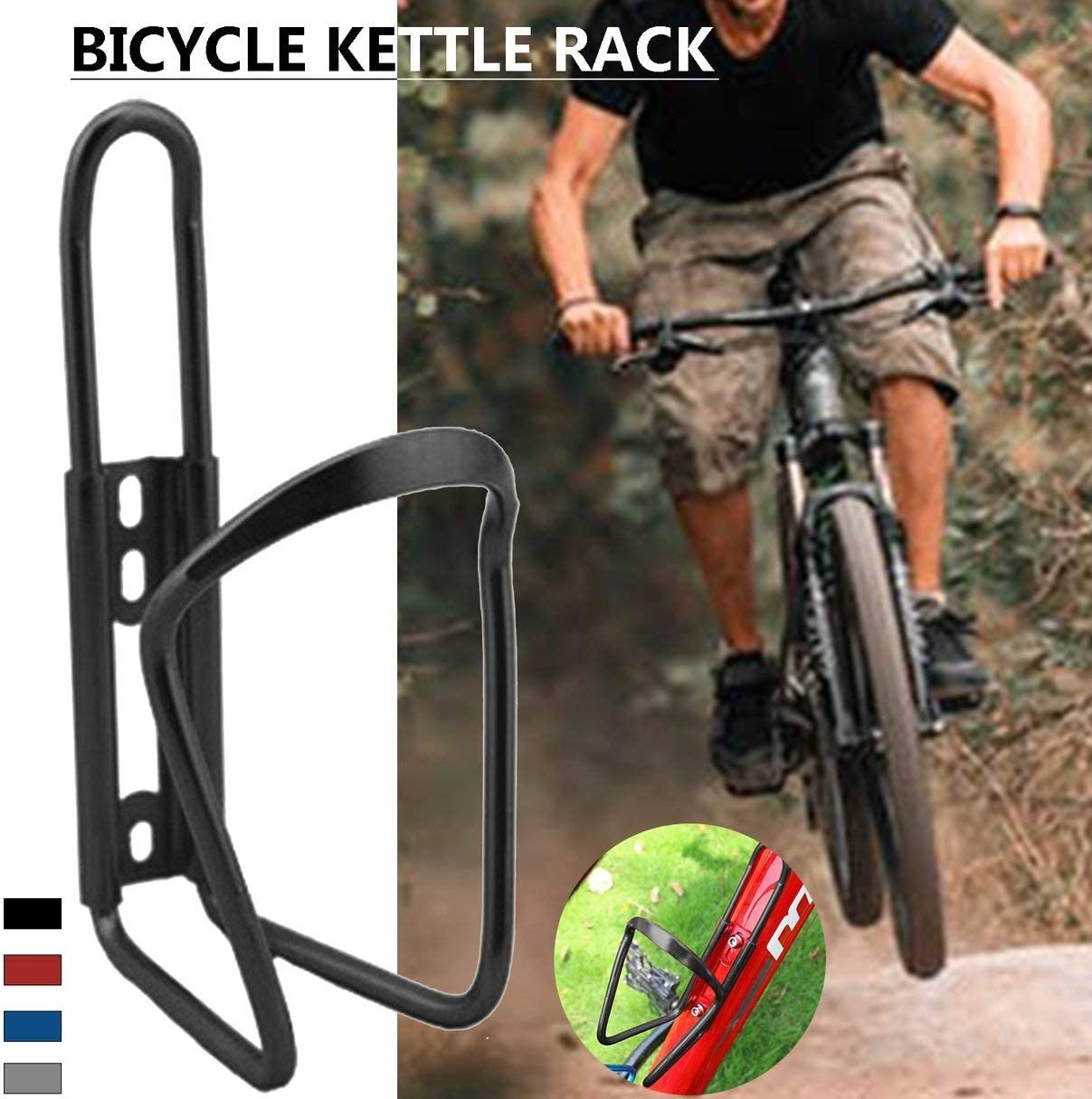 Ultra Lightweight Aluminum Alloy Bicycle Water Bottle Holder Cage MTB Road Bike Drink Bottles Mount Rack Cycling Accessories