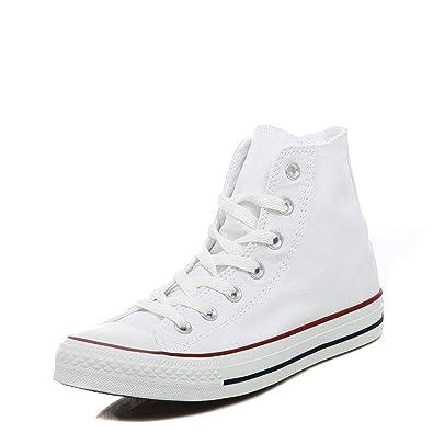 converse all star hi shoes optical white