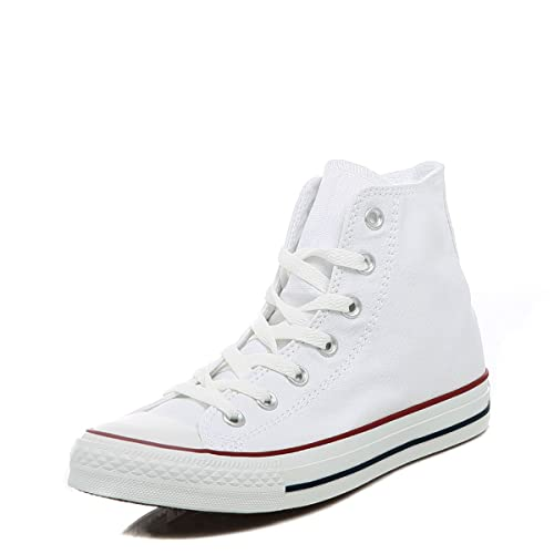 e95655071e16 Image Unavailable. Image not available for. Color  Converse All Star Hi  Optical White ...