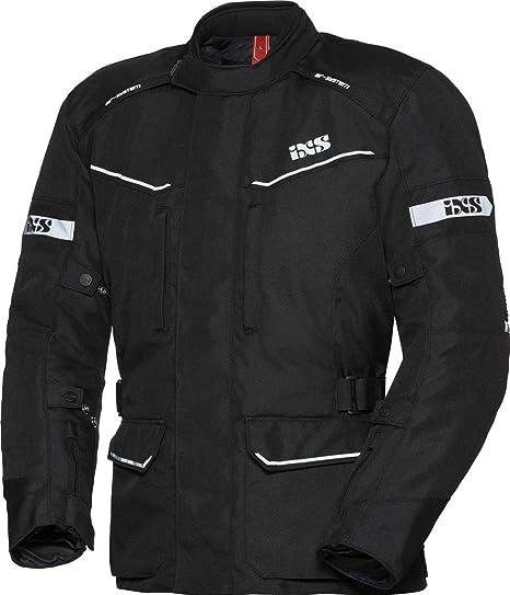 schwarz fluogelb IXS EVANS-ST Herren Motorrad Textiljacke Touring