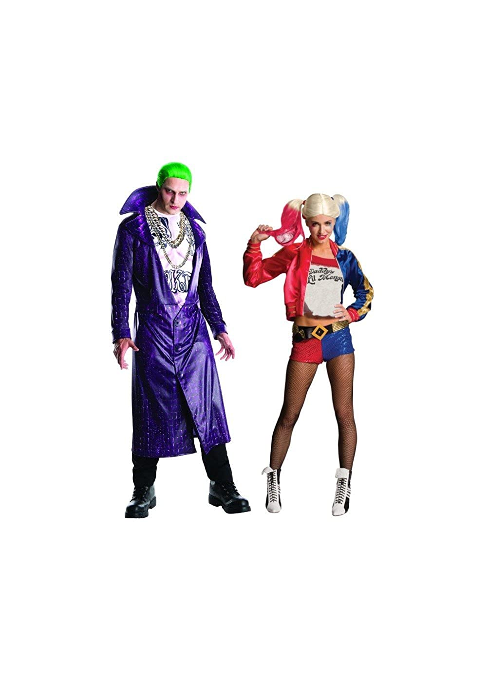 Amazon Com Wonder Clothing Suicide Squad Joker And Harley