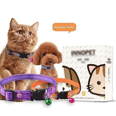 Collar antipulgas para Perros, antiparásito Impermeable para Mascotas Pulgas y garrapatas