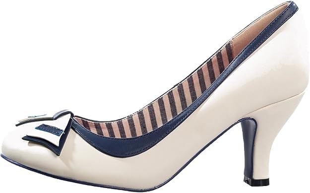 Dancing Days Damen Schuhe Sparkle Falls Nautical Pumps Geschlossen   Amazon.de  Schuhe   Handtaschen 3f68a7efef
