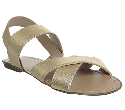2ad3cee4e18712 Office Skippy Elastic Cross Strap Sandals  Amazon.co.uk  Shoes   Bags