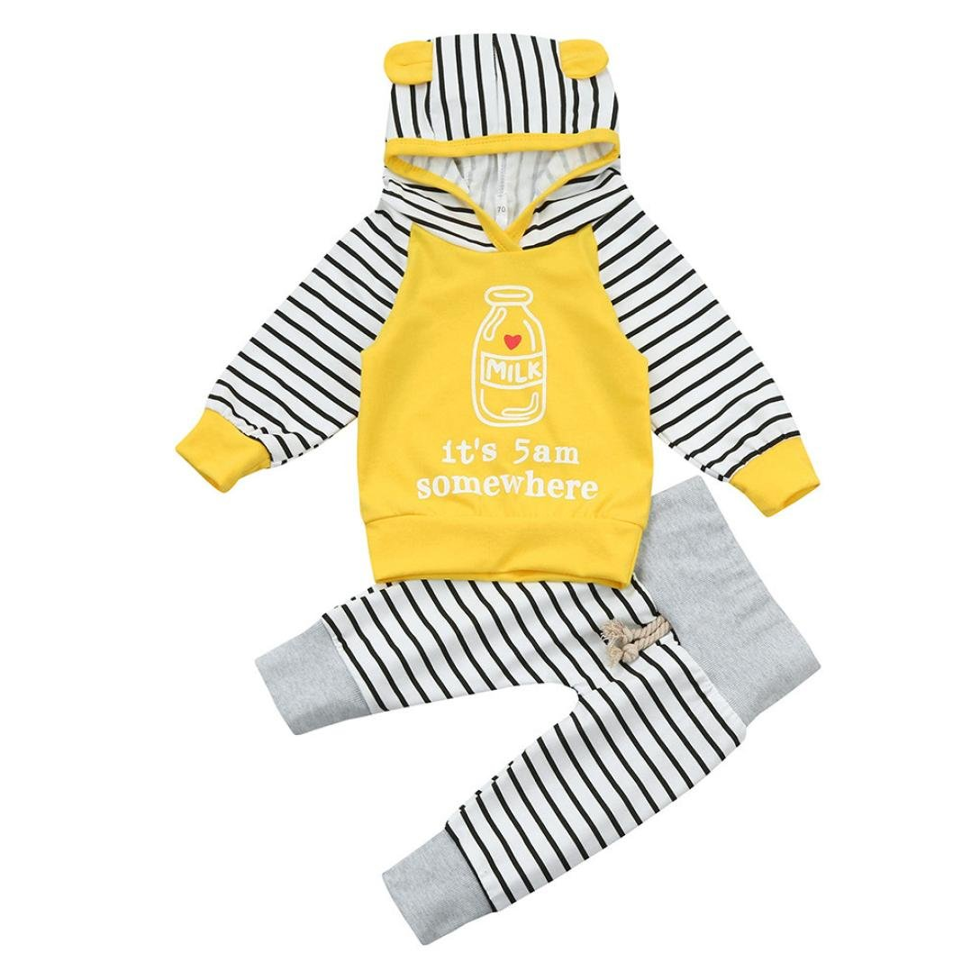 968c5b98d49c7 Winsummer Baby Pants Clothing PANTS ユニセックスベビー 0 - 6 Months イエロー B079MGW9BN