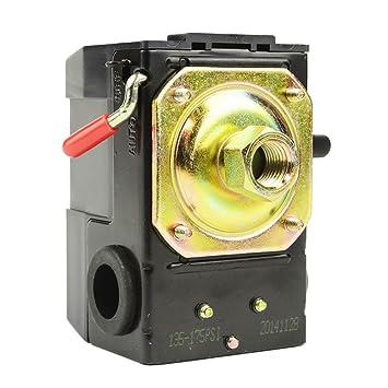 Interstate neumática LF10 – 1h-hp Interruptor de presión – 1/4 FPT un