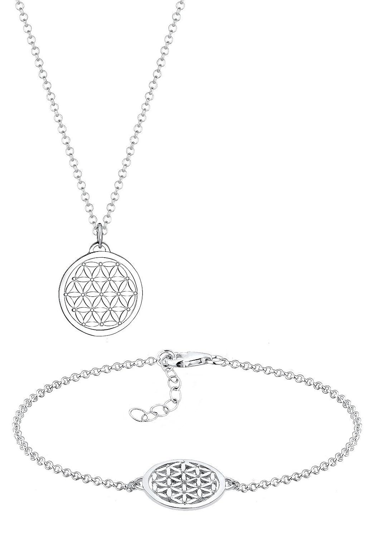 Elli - Kit Collier + Bracelet - Femme - Argent - 925/1000 Longueur 45 cm - 0903391516_45