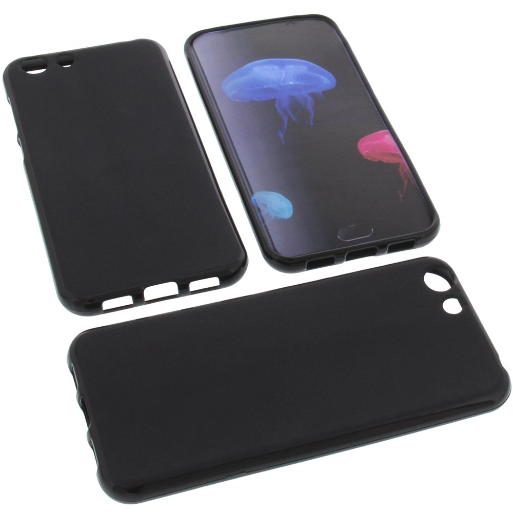 foto-kontor Funda para Elephone S7 Protectora de Goma TPU para móvil Negra