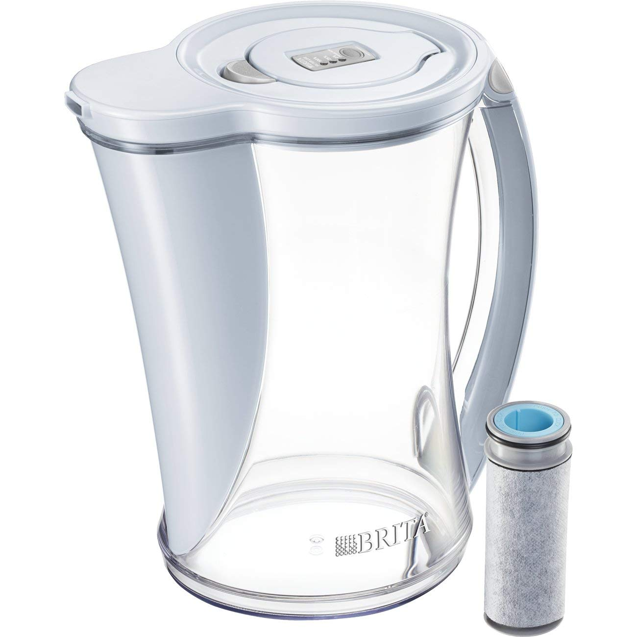 Brita 60258362855 Filtered Water Pitcher, 12 cup, Ice