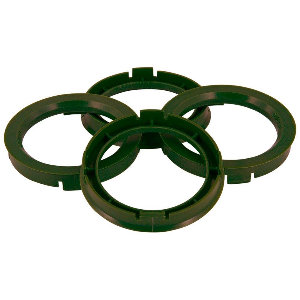 Set mozzo ruota TPI –  Anelli 67.1- > 65.1 mm, colore: verde oliva BX6716510-4