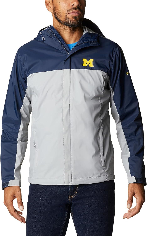 Columbia NCAA mens Glennaker Storm Jacket