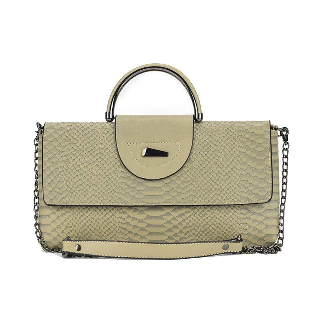 Damen große Kapazität Messenger Bag personalisierte Mode Mode Mode Kette Tasche Handtasche Schultertasche B07PXR6YWY Schultertaschen Moderater Preis e53daa