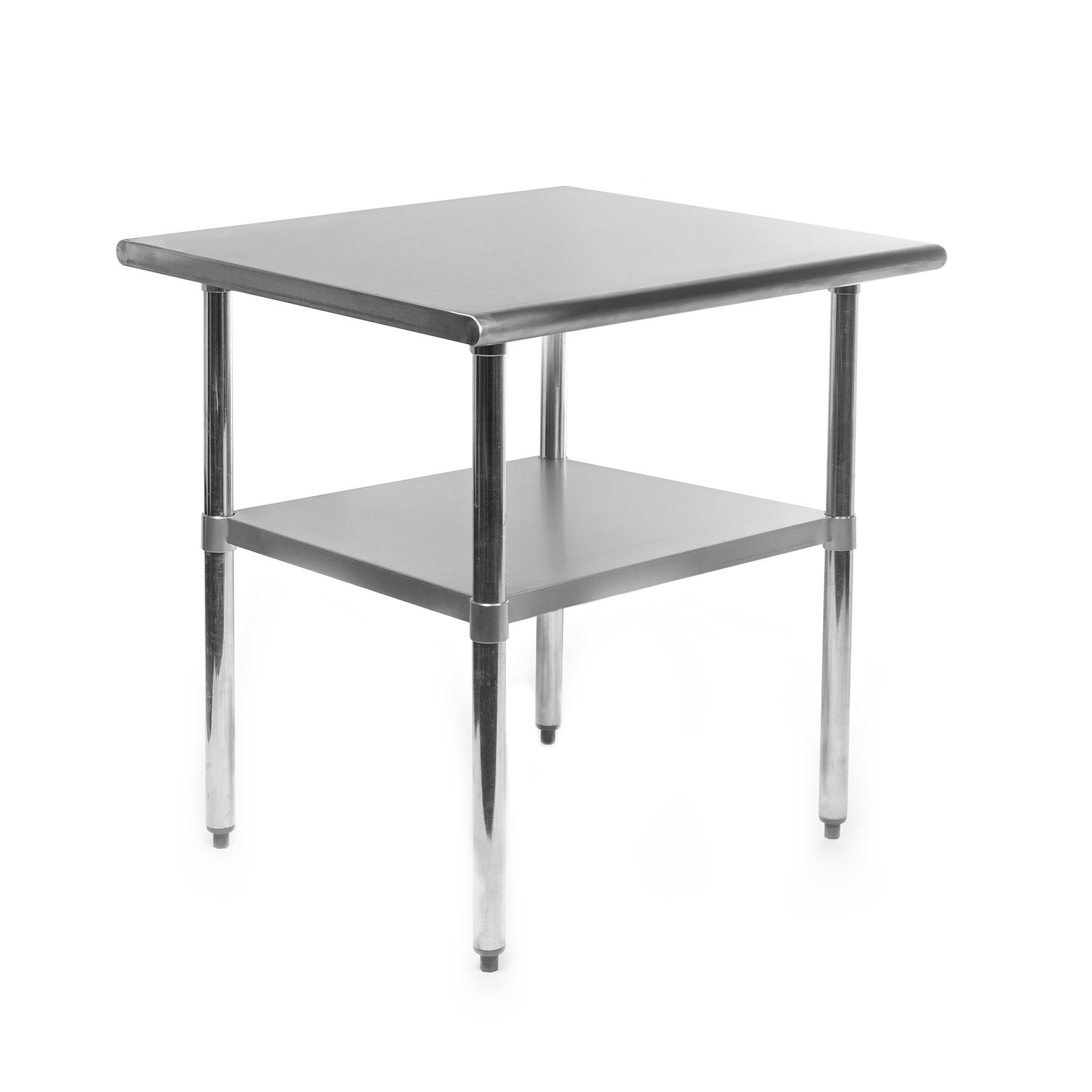 Gridmann NSF Stainless Steel Commercial Kitchen Prep & Work Table - 30 in. x 24 in. by Gridmann