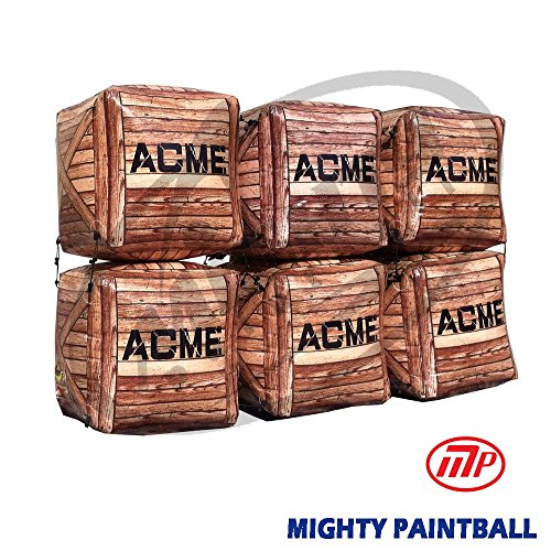 Paintball Air Bunker - Box 6 Stacked by MP - Mighty Products