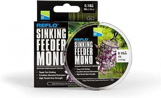 PRESTON INNOVATIONS REFLO POWER MAX 3lb OR 4lb FISHING MONO//150m SPOOL
