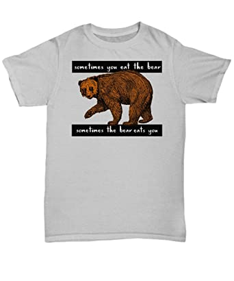 303e11dff0 Amazon.com  Papa Bear Mens T Shirt -Hilarious Manly Quote - Wear it for  Laughs