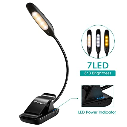 Lights & Lighting Steady Flexible Bright White Clip On Led Book Light Desk Reading Book Lamp Booklight Night Light Lamp Travel Flashlight Fast Color