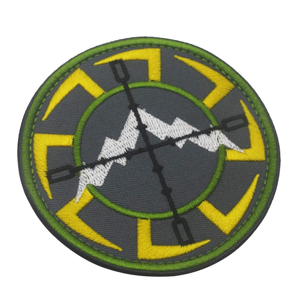 KingNew Mountain Range insignia táctica, parche de velcro militar ...