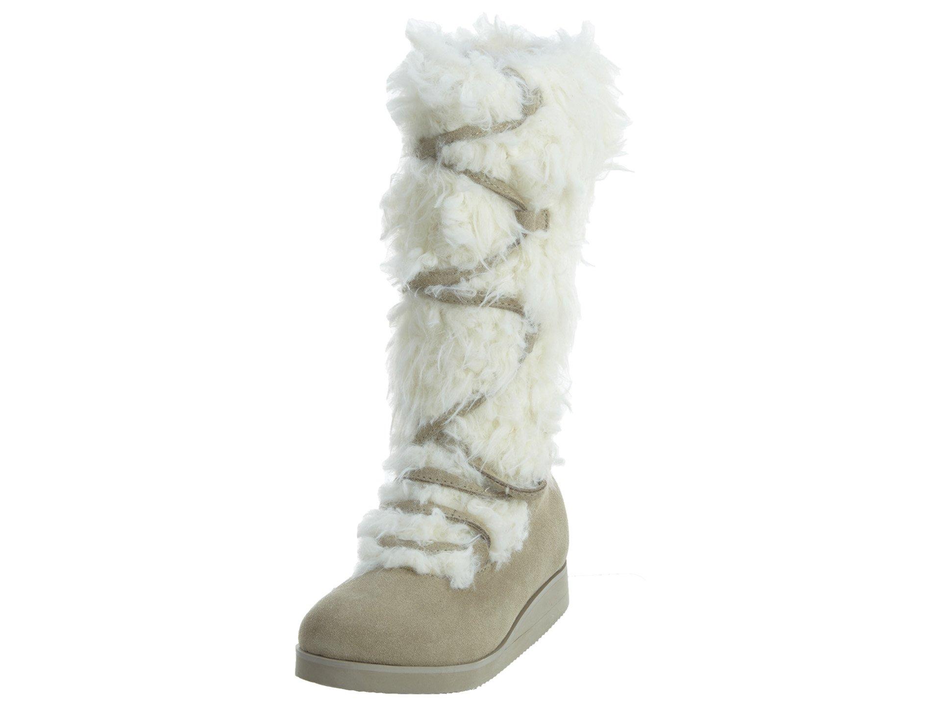 Joy Folie Belinda Fur Boots Little Kids Style: 901635-CREAM Size: 6